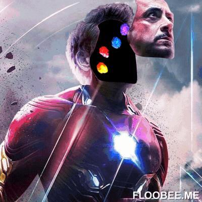 El rostro del héroe Iron Man