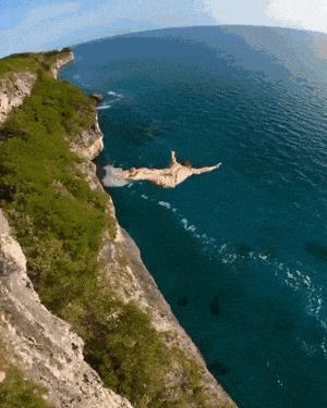 A big jump