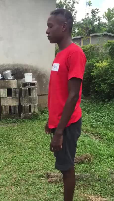 Nice Aerobics trick